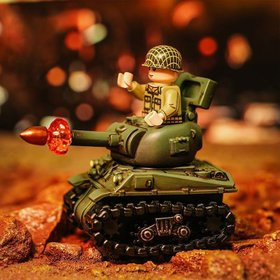 Custom Moulded Sherman Tank