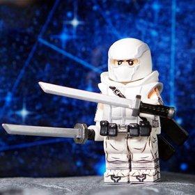 Custom Lego Minifigure Storm Shadow from GI Joe