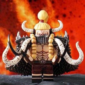 Custom Lego Minifigure Jack the Drought from One Piece