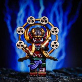 Custom Lego Minifigure Chinese Lightning God (雷神)