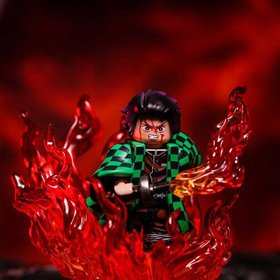 Tanjiro Kamado from Demon Slayer Minifig