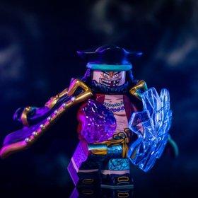 Marshall D Teach (Blackbeard) from One Piece Minifig